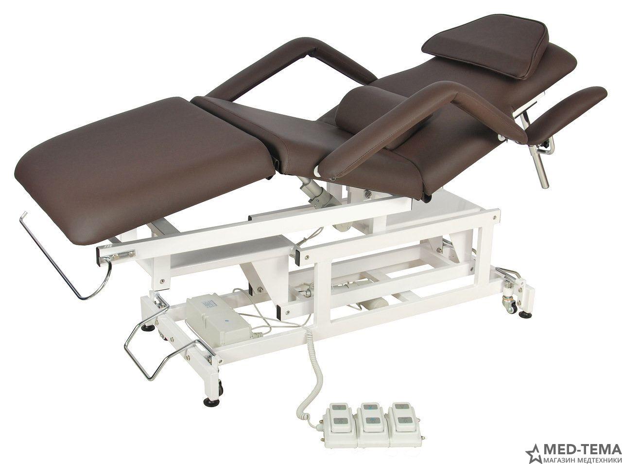 Стол массажный с электроприводом DB-9 (КО-7)