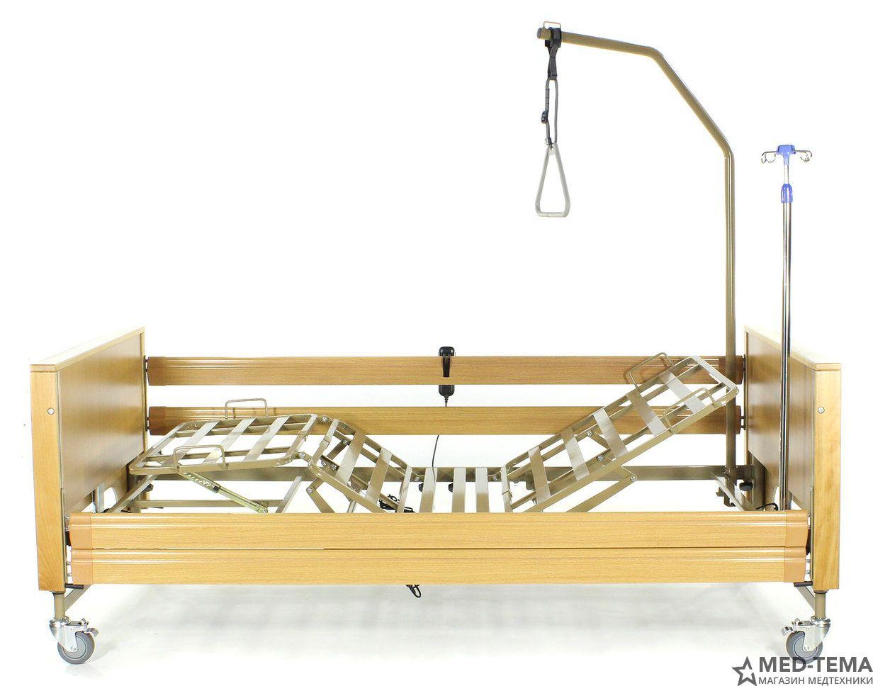Медицинская кровать MET TERNA в комплекте с матрасом