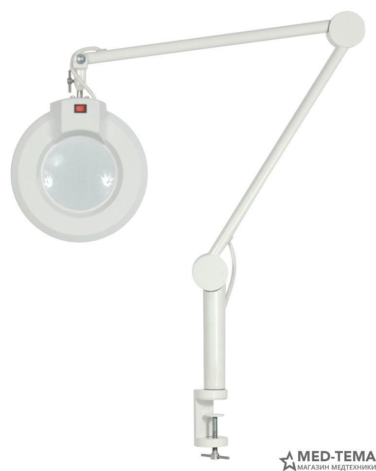 Лампа-лупа СН-2 на струбцине с РУ