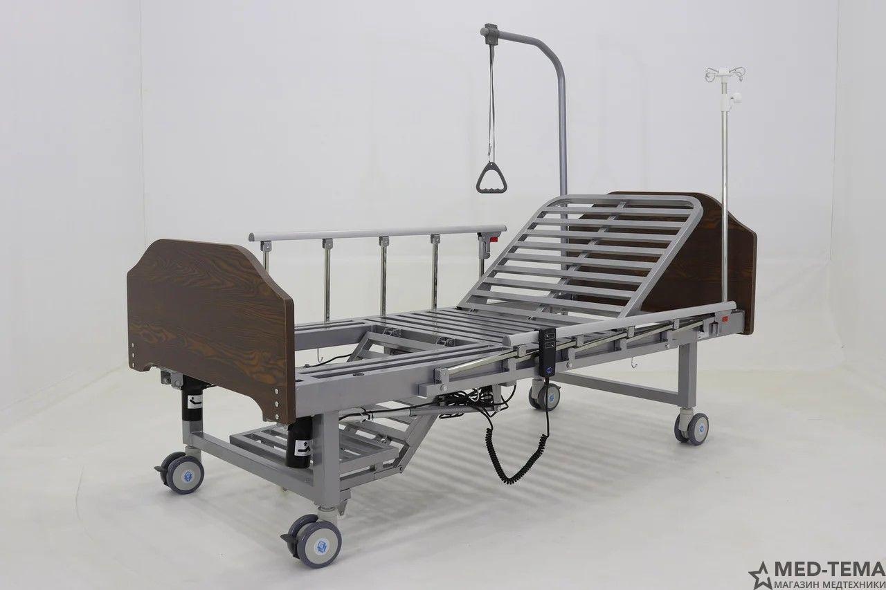 Медицинская кровать YG-2 (ММ-1301ТН) в комплекте с матрасом